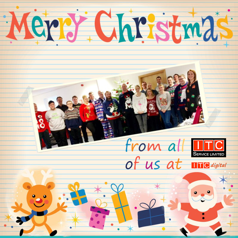 Merry Christmas and a Happy New Year from ITC Digital