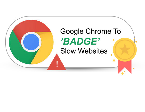 slow website badge